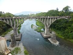 Old bridge for peds/bikes (Stop carbon pollution) Tags: flickr japan  saitamaken  chichibu  34kannonpilgrimage