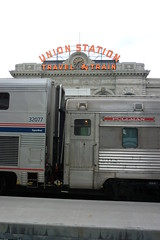 2016 Summer 087 (R. W. Rynerson) Tags: sunset station colorado union denver amtrak zephyr co superliner