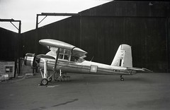 FM1011. Royal Malaysian Air Force Scottish Aviation Pioneer 2 (Ayronautica) Tags: aviation military scanned stol prestwick pik egpk royalmalaysianairforce ayronautica fm1011 scottishaviationpioneer2