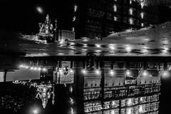 Monsoon Reflection | Murudeshwara Temple,Karnataka,India. (vjisin) Tags: india architecture lordshiva murudeshwar karnataka konkancoast coast monsoon hinduism shiva dark arabiansea asia pilgrim pilgrimage lights nikond3200 nikon nikonofficial nikonindia indiantourism inexplore cwc chennaiweekendclickers cwc534 tower skyline outdoor building water waterfront skyscraper reflection upsidedown monochrome blackandwhite