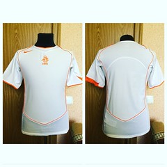 HOLLAND NETHERLANDS NATIONAL TEAM 2004/2006 AWAY #FOOTBALLSHIRT JERSEY #MAGLIA (sharov.ivan) Tags: footballshirt maglia