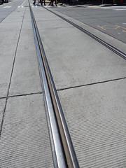 Around Seattle: South Lake Union (Seattle Department of Transportation) Tags: seattle sdot transportation slu southlakeunion streetcar track