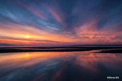Barassie Beach Sunset 16/08/16 - MJSFerrier DSC_3034 (MJSFerrier) Tags: arran seascape gloaming sun pillar ayrshire troon barassie beach mjsferrier