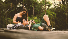 Couple (Galo Andrés) Tags: gualaquiza amazon ecuador couple bridge young