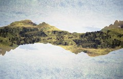 Dolomiti Di Scalve - Double Exposure (No Dust Gathers On the Grass) Tags: film 35mm analog camera fuji superia 200 mountains adventure double exposure multi exposures pines federico raviele photography adventures italy orobie alpi alps
