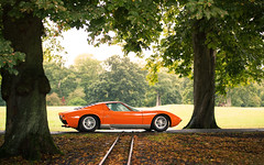 Miura. (Alex Penfold) Tags: lamborghini miura orange supercars supercar super car cars autos alex penfold 2016 salon prive