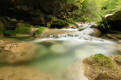 Urederra I (Gure Elia) Tags: navarra ro landscape river longexposure efectoseda canon1740l 17 urederra nacederodelurederra