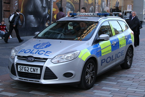 GLAS SF62 CNY FORD FOCUS TDCI POLICE SCOTLAND