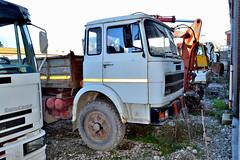 fiat 684N (riccardo nassisi) Tags: truck camion abbandonato abandoned rust rusty relitto rottame ruggine ruins scrap scrapyard epave cava piacenza san nicol
