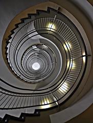 Spirale (Markus Pier ( MaPi )) Tags: spirale wendeltreppe gelnder dortmund stufen hhe tiefe perspektive weitwinkel architektur