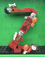 Z (Laurene J.) Tags: lego bricksbythebay bbtb2016 minifigurealphabet minifigure minifigs legoalphabet alphabet pilobolusalphabet pilobolus lettering bbtb 2016 bricksofcharacter z zombie