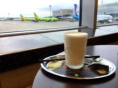 #coffee #time #airport #flight #boarding #relax #dontworry #behappy #domodedovo #moscow (anastasiaborzova) Tags: coffee time airport flight boarding relax dontworry behappy domodedovo moscow