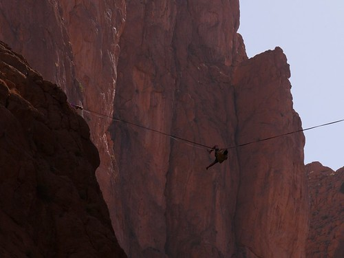 Climbing the Todra Gorge - Tinghir, Morocco