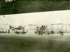 German floatplanes on the platform of a German Navy seaplane station [Germany,1914] (Kees Kort Collection) Tags: 4b11 87 ff29a friedrichshafen germany kiel navy rumpler