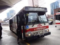 Toronto Transit Commission 7024 on 39 Finch East (Orion V) Tags: ttc