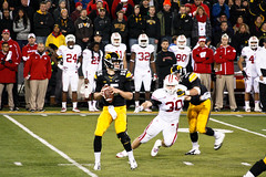 college football badgers iowacity universityofwisconsin hawkeyes universityofiowa kinnickstadium sigma70300mm sigma70300apomacro