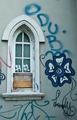 Exploring (Loree R.) Tags: street streetart flower window argentina wall canon ventana pared graffiti calle buenosaires grafitti grafiti flor urbanart graffitti canonrebel draw dibujo martinez blueflower artecallejero arteurbano oldwindow florazul ventanavieja canoneosdigitalrebelxti