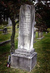 Civil War Vet (slarsen327) Tags: graveyard virginia lexington cemetary civilwar gravestone