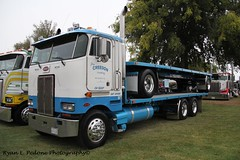 Gary Creedon (RyanP77) Tags: show wheel truck cattle dump semi chrome rig pete heavy stockton tanker peterbilt 389 359 hauler cabover 388 379 352 daycab