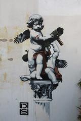 Street art on Whitecross street (ec1jack) Tags: street uk england london art europe britain ds cupid whitecross whitecrossstreet kierankelly ec1jack canoneos600d