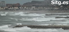 """Sitges Bay Storm • <a style=""""font-size:0.8em;"""" href=""""http://www.flickr.com/photos/90259526@N06/15522195109/"""" target=""""_blank"""">View on Flickr</a>"""