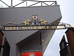You'll Never Walk Alone (lcfcian1) Tags: city sport liverpool 22 football stadium leicester ground premier league premiership 1115 anfield lfc liverpoolfc bpl youllneverwalkalone epl lcfc billshankly shanklygates liverpool22leicestercity1115