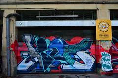 AROE (Di's Free Range Fotos) Tags: uk england graffiti brighton ha aroe heavyartillery aroemskha