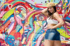 Fanny Doll (Jeison Morais) Tags: girls brazil hot sexy girl doll grafitti models fanny brazilian grafite jeison jeisonmorais