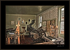 Meet The Press (the Gallopping Geezer 3.8 million + views....) Tags: old building history abandoned museum canon colorado exterior village display antique decay interior roadtrip structure historic collection faded worn ghosttown weathered antiques aged 2008 decayed geezer oldstuff corell southparkcity