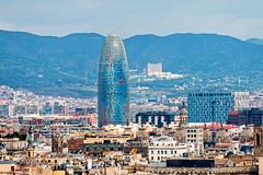 Agbar Tower, Barcelona, Spain (CamelKW) Tags: barcelona building spain catalonia agbartower tall towe