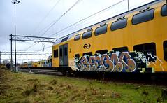 train graffiti (wojofoto) Tags: amsterdam yard train graffiti trein traingraffiti wolfgangjosten wojofoto treingraffiti