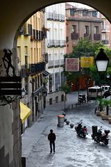 Arco de Cuchilleros, Madrid. (M Roa) Tags:
