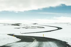 Dettifoss road (Jaime Prez) Tags: road snow iceland islandia carretera nieve vei sland
