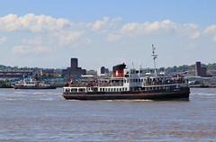 Mersey Ferries (David Chennell - DavidC.Photography) Tags: liverpool snowdrop wirral merseyside rivermersey merseyferries merseyferry