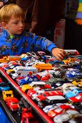 Browsing for cars (radargeek) Tags: cars alaska toys ak palmer 2014 alaskanstatefair