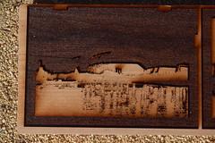 Hansa Yellow Woodblock (jjldickinson) Tags: wood print cherry board longbeach card printmaking wrigley woodblock hansayellow mokuhanga nikond3300 promaster52mmdigitalhdprotectionfilter 101d3300 nikon1855mmf3556gvriiafsdxnikkor card2014