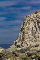 Punta Angamos 2014 (RH artes visuales) Tags: chile sea mar colores verano mejillones antofagasta lobosmarinos acantilados