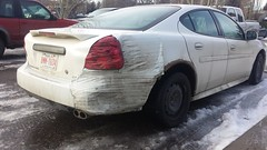Tape repair (dave_7) Tags: tape repair pontiac redneckrepair