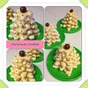 Christmas Tree Cookies (AnnaMsCakes) Tags: christmas tree cookies chocolate stack sugar butter gift icing cutter malteser cachous