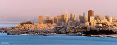 City In The Bay - San Francisco, CA (Ian P. Miller Photography) Tags: sanfrancisco california skyline nikon cityscape goldengatebridge baybridge bayarea sausalito transamericapyramid d800 slackerhill