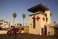 Ocean Beach lifeguard tower (San Diego Shooter) Tags: ocean california beach sandiego lifeguard lifeguardtower oceanbeachlifeguardtower
