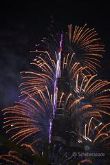 Week 1/52 (scherry.shahid) Tags: dubai fireworks khalifa burj 52weeks dubaimall burjkhalifafireworks