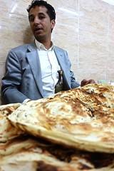 Eating at a local restaurant in Sana'a (EleanorGiul ~ http://thevelvetrocket.com/) Tags: yemen sanaa イエメン iémen йемен justinames 也门 arabpeninsula yemenifood locallifeinyemen httpthevelvetrocketcom เยเมน