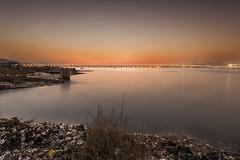 Lau Fau Shan () Tags: sunset hongkong oyster   magichour   laufaushan laufaushan