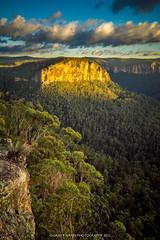 Asgard Sunrise Spotlight - MOUNT VICTORIA (Gary Hayes) Tags: mt australia bluemountains vic pulpitrock mountvictoria asgardhead