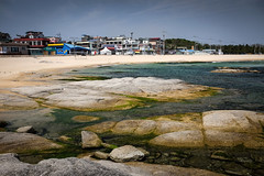 059 (gmouret92) Tags: beach fuji southkorea plage sampo coredusud songjiho x100t