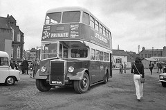 Maidstone & District NKT896 (Bingley Hall) Tags: uk england bus london heritage md rally transport transportation titan stpancras doubledecker omnibus preservation leyland pd2 maidstonedistrict nkt896