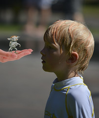 Filled With Wonder (swong95765) Tags: boy wonder kid bokeh expression alien unusual amazement awe creature gullible