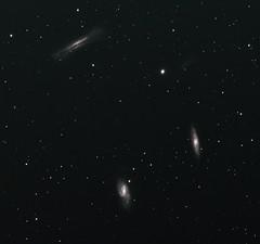 Triplet+comet 67/P (John Napper) Tags: comet rosetta m65 m66 ngc3628 leotriplet 67p churyumovgaresimenko