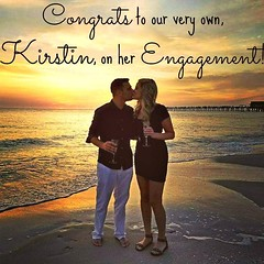 BIG Congrats to our very own @Kirstin_rentmywedding on her romantic #engagement this weekend!  #McBride2Be #ww (RentMyWedding) Tags: wedding party inspiration diy celebration event planning ideas weddingreception uplighting weddingplanner weddingideas diywedding dreamwedding weddinginspiration rentmywedding